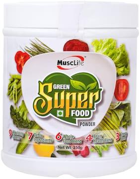 Musclife Green Super Food Powder-250g