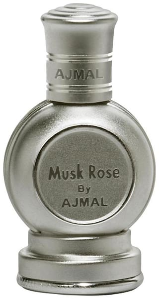 Musk Rose Concentrated Floral Perfume Free From Alcohol 12ml for unisex