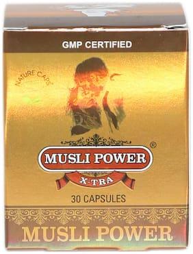 Musli Power X-Tra Capsule For Strength, Stamina & Power Boost (30 Capsule)