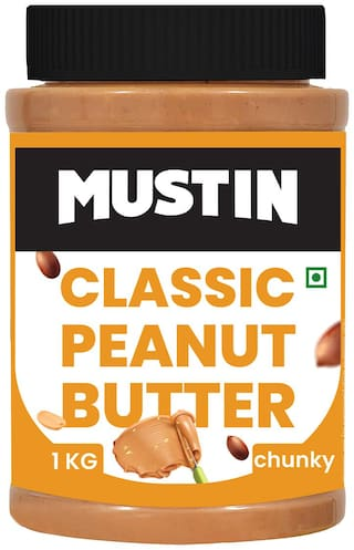 MUSTIN Classic Peanut Butter Chunky-1kg