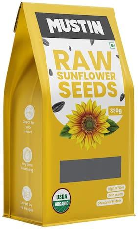 MUSTIN Raw Sunflower Seeds-330g