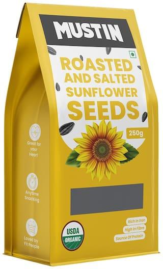 MUSTIN Roasted & Salted Pumpkin Seeds-250g