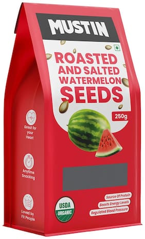 MUSTIN Roasted & Salted Watermelon Seeds-250g