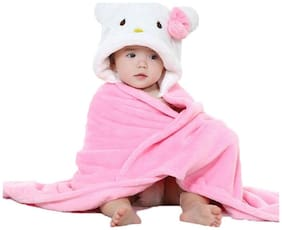 My Newborn All Seasons Use-Premium Quality-Born Baby Wrappers/Baby Blankets/Baby Towel/Baby Bathrobe (0-6 Months)