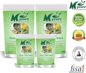 Mycure Green Coffee Beans Decaffeinated & Unroasted Coffee Beans For Weight Management 800x4gm