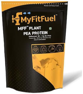 MyFitFuel Plant Pea Protein Isolate 1 kg (Unflavored) 28 Servings