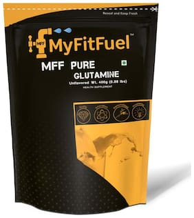 MyFitFuel Pure Glutamine (Unflavored) 400 gm 80 Servings