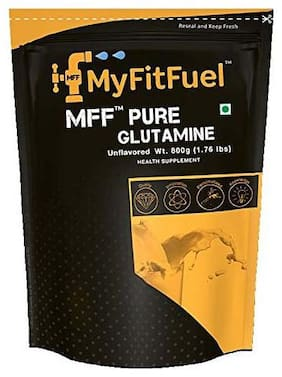 MyFitFuel Pure Glutamine (Unflavored) 800 gm 240 Servings