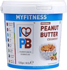 MYFITNESS PEANUT BUTTER 1250gm Crunchy