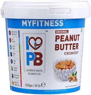 MYFITNESS PEANUT BUTTER 1250 g Crunchy