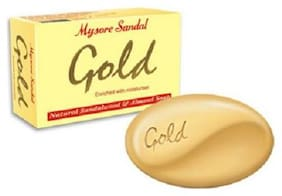 Mysore Sandal Bathing Soap - Gold 125 gm