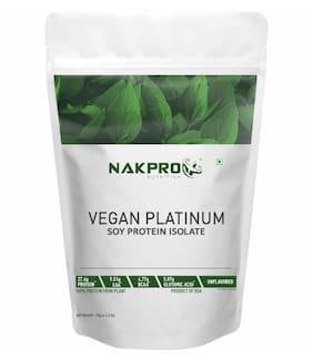 Nakpro Nutrition Vegan Plant Based Soy Protein Isolate 90% Unflavoured 1 kg