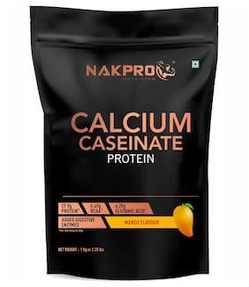 Nakpro Nutrition Calcium Caseinate Slowdigesting Casein Protein Powder For Muscle Growth Mango 1 kg
