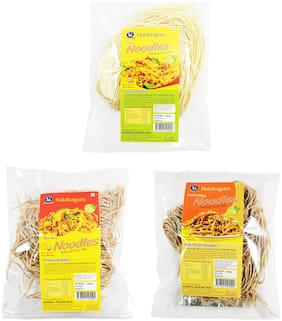 Nalabagam Multi Millet, Soya and Red Rice Noodles Pack of 3