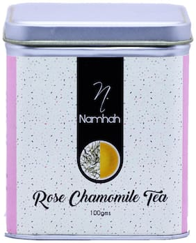 Namhah Rose Chamomile Green Naturaaly Flavored Tea 100gm