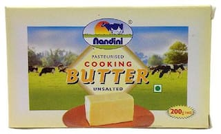 Nandini Cooking Butter - Unsalted 200g