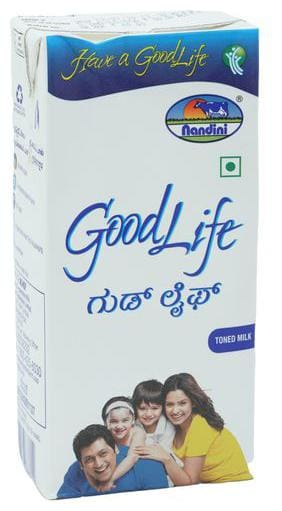 Nandini Goodlife Toned Milk 1 Lt