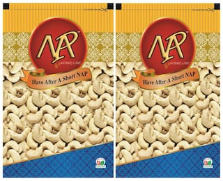 Nap Cashew 500 g (Pack of 2)