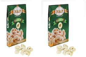 Nap Premium Quality Plain Cashew Pack Of 2 (400 g Each)