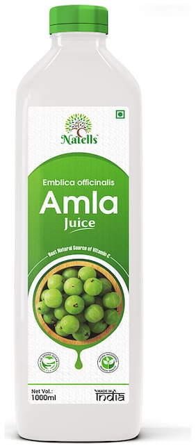 Natells Healthcare Amla Juice Immunity and Digestion Booster 1 L (Pack of 1)