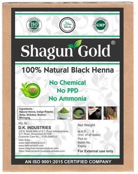 Natural Black Henna (Indigo + Henna mix ) powder for hair color  200gm