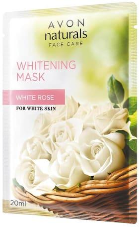 Avon Naturals Whitening Mask 20 ml - White Rose (Ind)