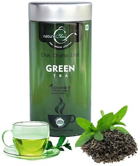 Nature Chai Green Tea 75g Tin Can - Pack of 1