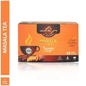 Nature Chai Masala Green Tea - 25 Tea Bags (Pack of 1)