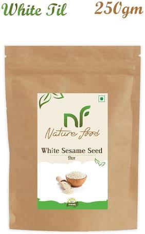 Nature Food Good Quality White Sesame Seed / White Til Pack of 1 (250 g)