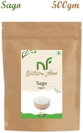Nature Food Good Quality Sabudana / Sago Pack of 1 (500 g)