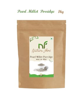 Nature Food Good Quality Pearl Millet Porridge / Bajra Daliya Pack of 1 (1 kg)