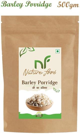 Nature Food Good Quality Barley Porridge / Jau Daliya Pack of 1 (500 g)