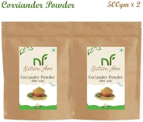 Nature Food Good Quality Corriender Powder / Dhaniya Pack of 2 (500g x2)