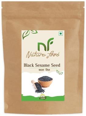 Nature Food Best Quality Black Sesame Seed / Black Til 250 g