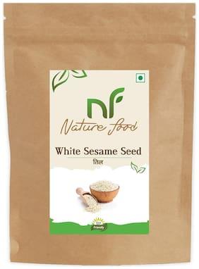 Nature Food Best Quality White Sesame Seed / White Til 250 g