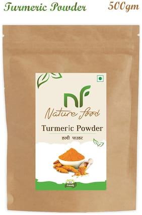 Nature Food good Quality Turmeric Powder / Haldi 500 g