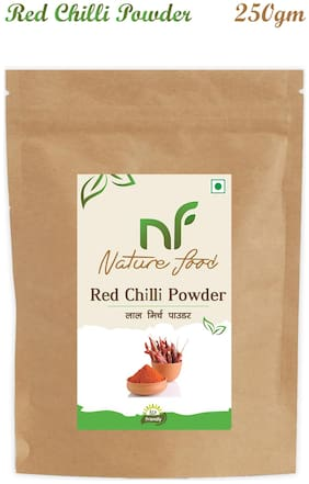 Nature Food good Quality Red Chilli Powder / Lal Mirchi 250 g