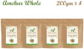 Nature Food Good Quality Whole Amchur Pack of 4 (200g x4)