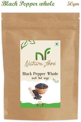 Nature Food good Quality Whole Black Pepper / Sabut Kali Mirchi 50 g