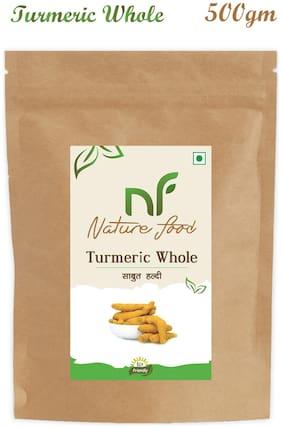 Nature Food good Quality Whole Turmeric / Sabut Haldi 500 g
