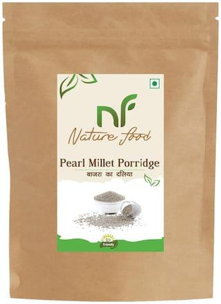 Nature Food Best Quality Pearl Millet Porridge / Bajra Daliya 1 kg