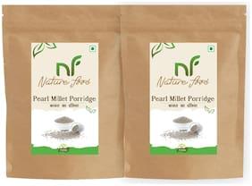 Nature Food Best Quality Pearl Millet Porridge / Bajra Daliya 1 kg ( Pack of 2)