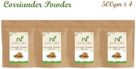 Nature Food Good Quality Corriender Powder / Dhaniya Pack of 4 (500g x4)