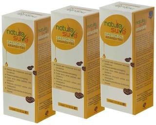 Nature Sure Castor Oil (Arandi Tail) for Men & Women 110ml (Pack of 3)