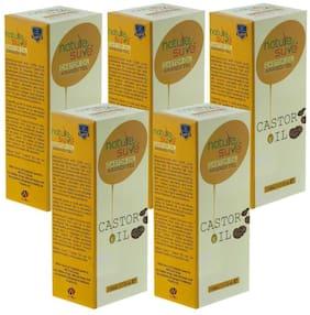 Nature Sure Castor Oil (Arandi Tail) for Men & Women Packs of 5 (5x110ml)