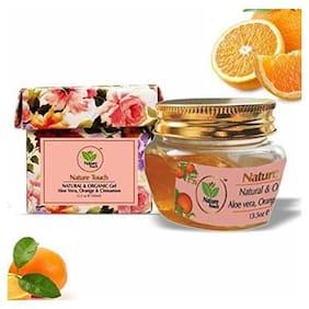 Nature Touch Presents Natural & Organic Gel Aloe vera, Orange & Cinnamon