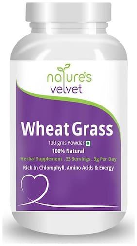 Natures Velvet Lifecare Wheat Grass Powder 100G