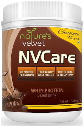 Natures Velvet Lifecare NV Care whey protein chocolate drink 300g