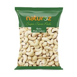 Naturoz Popular Whole Cashews 1 kg ( Pack of 1 )