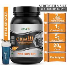 Naturyz Crea10 Creatine Supplement for Muscle building (750s)